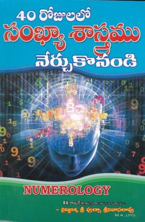 40 Rojulalo Sankhya Sastramu Nerchukonandi Telugu Book By Putcha Srinivasarao