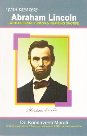 Abraham Lincoln English Book By Dr. Kondaveeti Murali