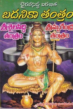 badanika-tantram-telugu-book-by-medavarapu-sampat-kumar-srisaila-siddi-tantram-sri-mrugendra-tantram