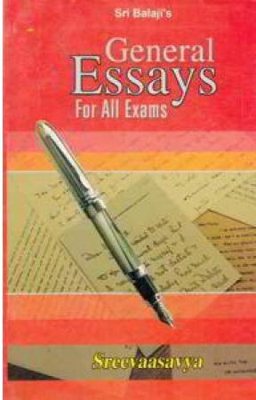 General Essays English Book By Sri Vasavaya (Sreevasavya)
