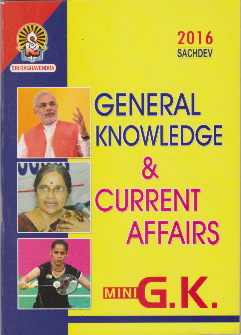 General Knowledge & Current Affairs Mini G.K English Book