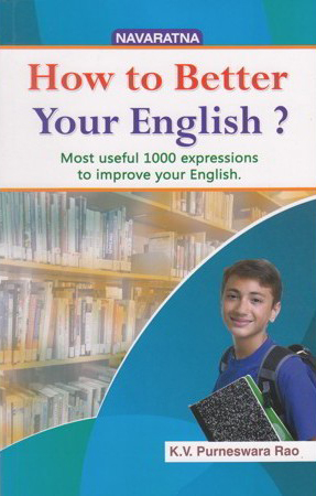 How To Better Your English Book By K.V.Purneswara Rao