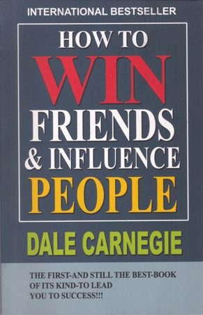 How To Win Friends & Enfluence People English Book By Dale Carnegie