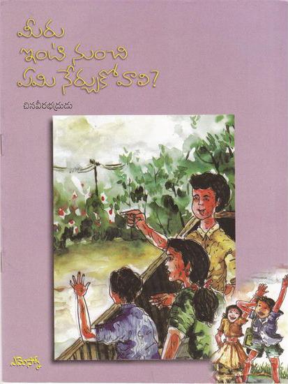 Meeru Inti Nunchi Emi Nerchukovali Telugu Book By Chinaveerabhdrudu