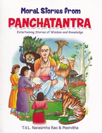 Panchatantra English Book By T.V.L. Narasimha Rao And Poorvitha