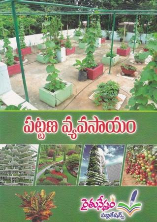 Pattana Vyavasayam Telugu Book By Pro Kosaraju Chandra Sekhara Rao