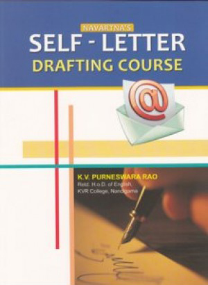 Self Letter Drafting Course English Book By K.V.Purneswara Rao