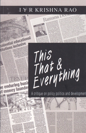 This - That & Everything English Book By I.Y.R.Krishna Rao